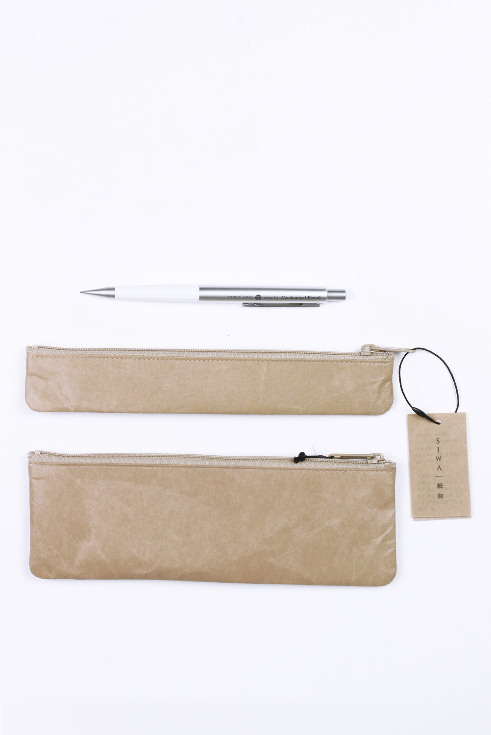 Slim Pen Case, Brown