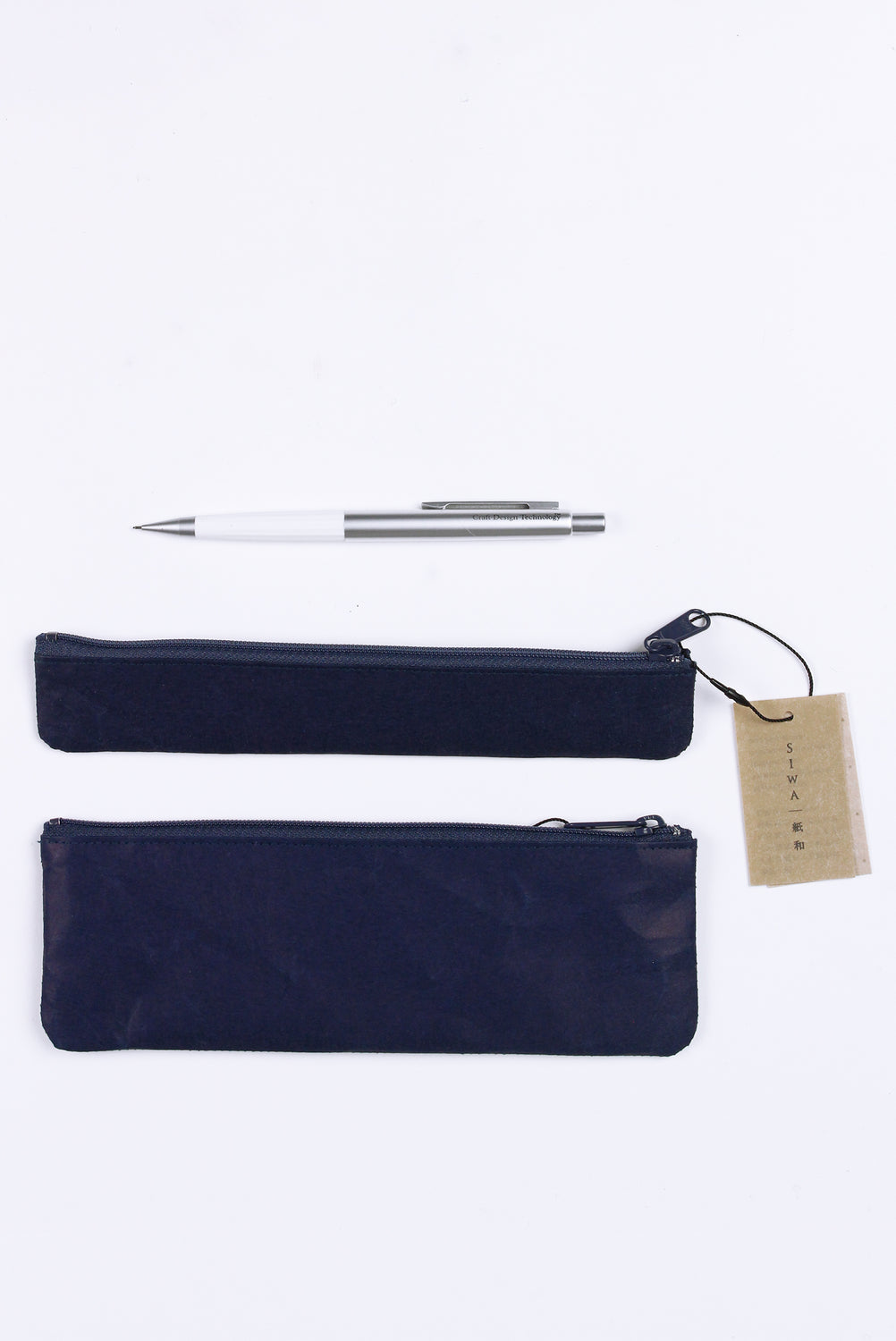 Medium Pen Case, Dark Blue