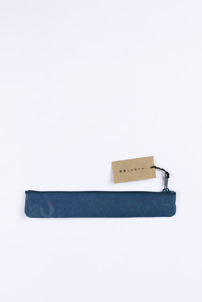 Slim Pen Case, Blue