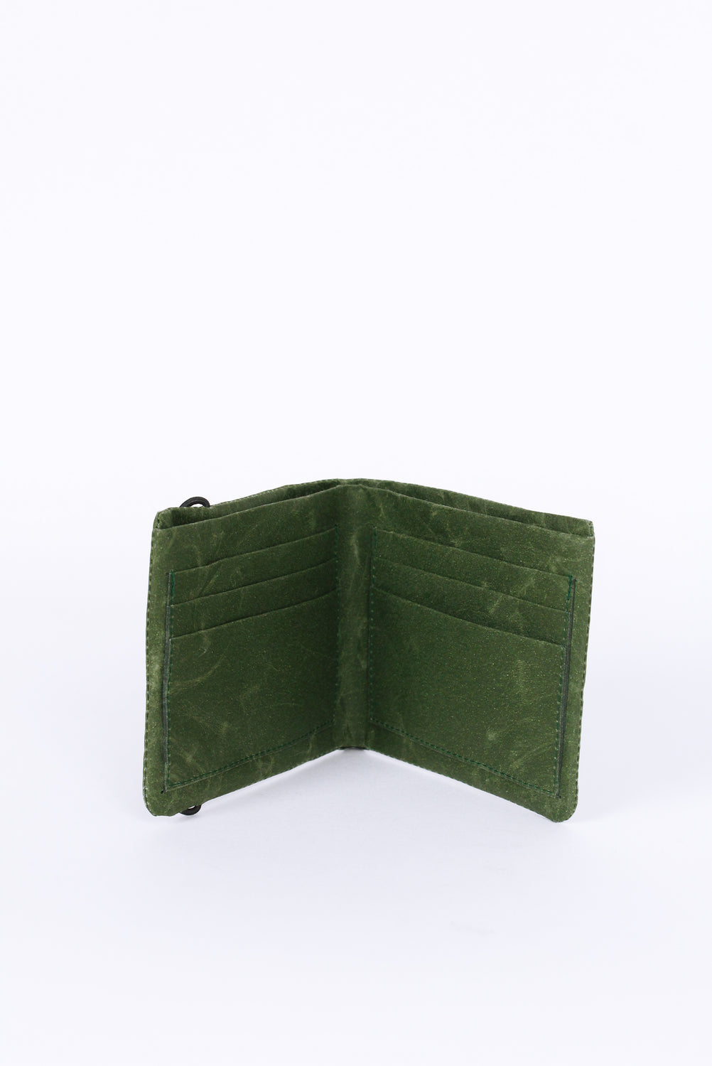 Short Wallet, Dark Green