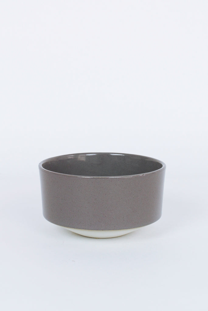Small Bowl, Purple and Light Grey