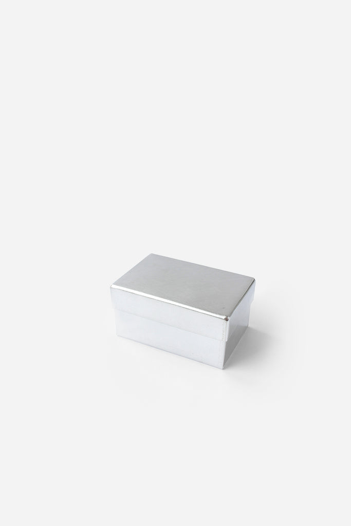 Rectangular Tin Box, Extra Small