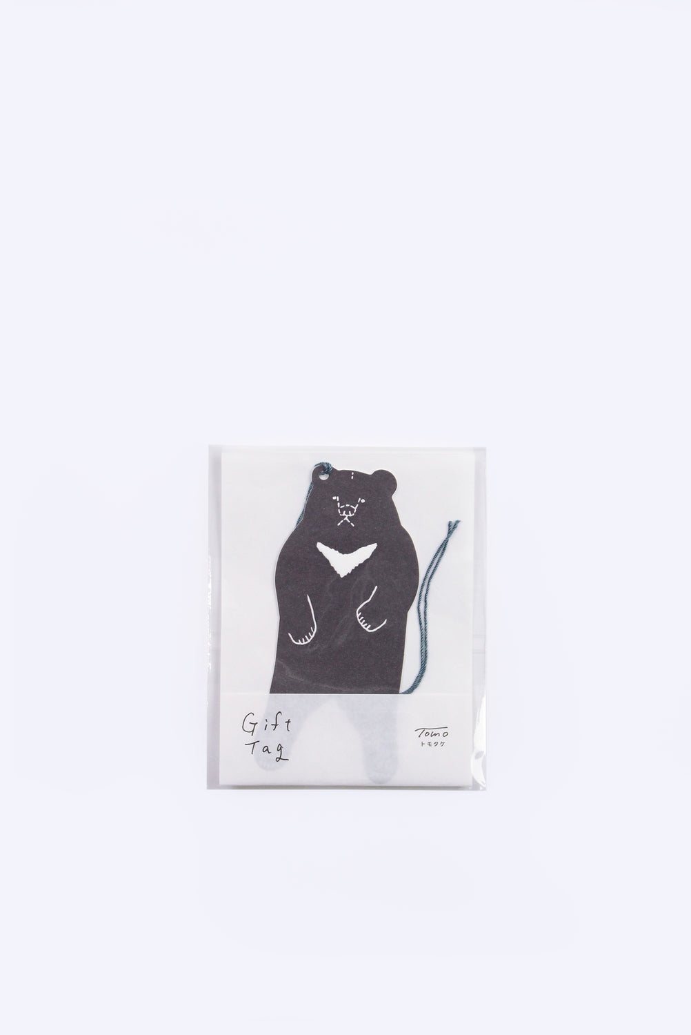 Moon Bear Gift Tag