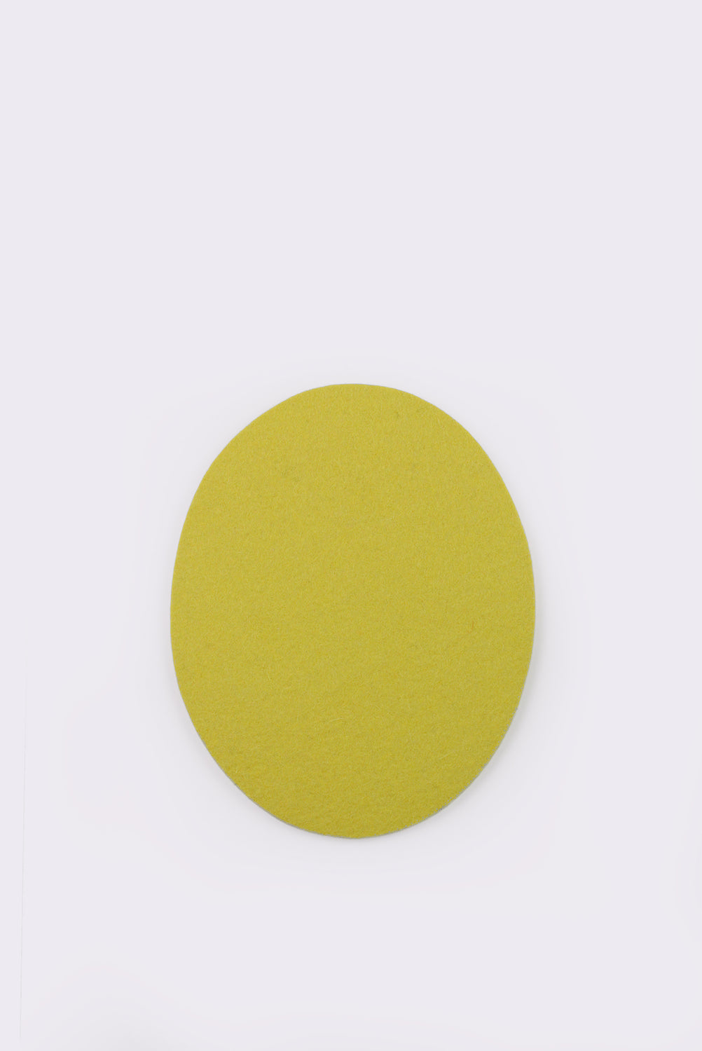 Felt Trivet Set, Silver Grey and Yellow