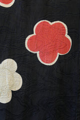 Vintage Fabric with Floral Pattern