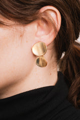 Bronze Ovalini 01 Earrings