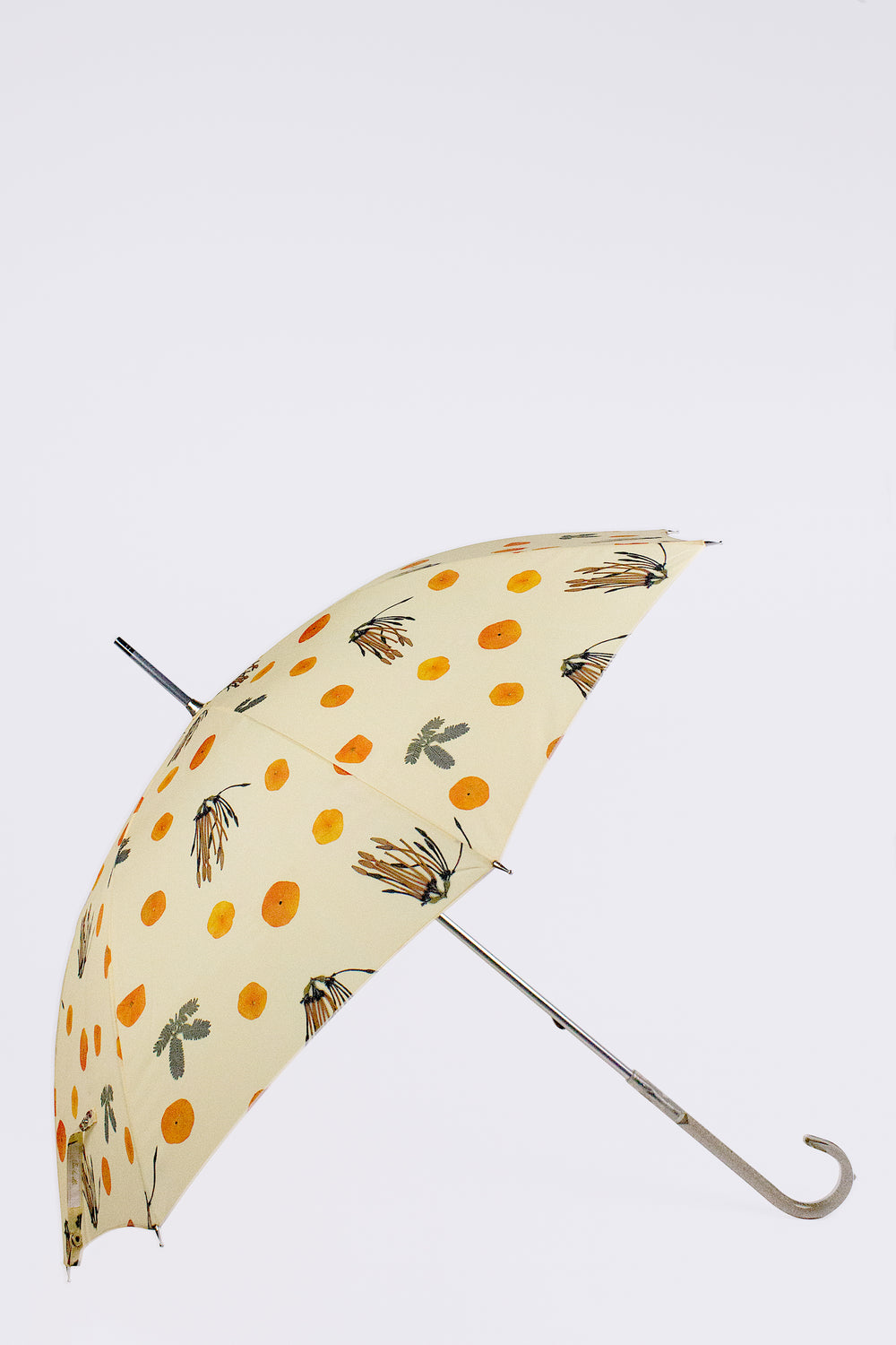 Orange Flower Umbrella