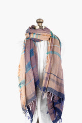 Woven Cotton Roots Shawl Big 12