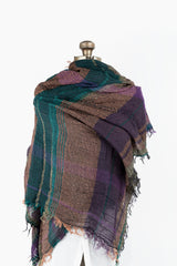 Woven Cotton Roots Shawl Big 11