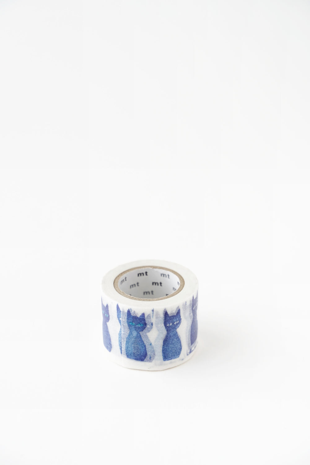 Neko Blue Cat Washi Tape