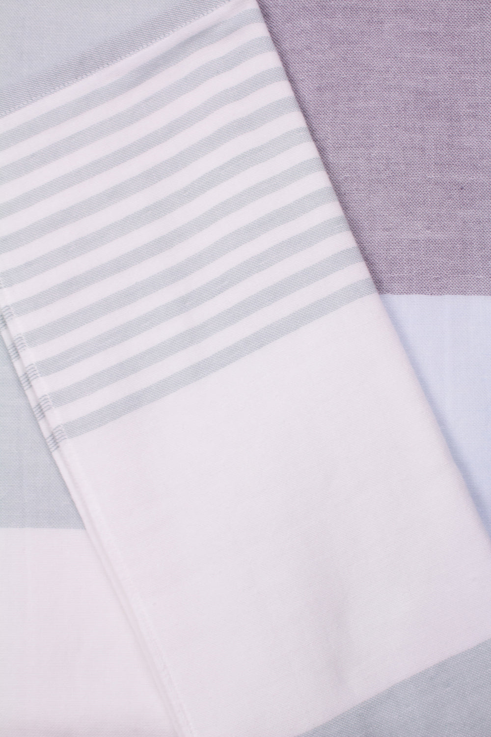 Tri-Color Chambray Towel