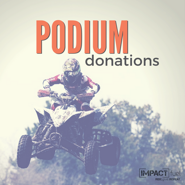 Podium Donation Racing