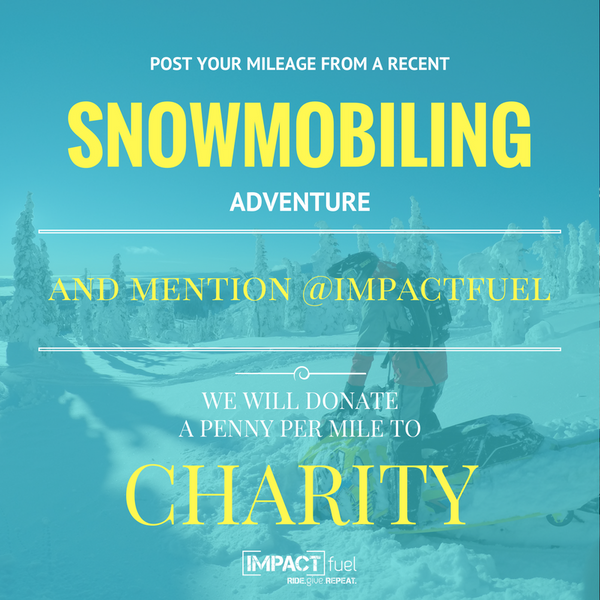 Snowmobiling charity