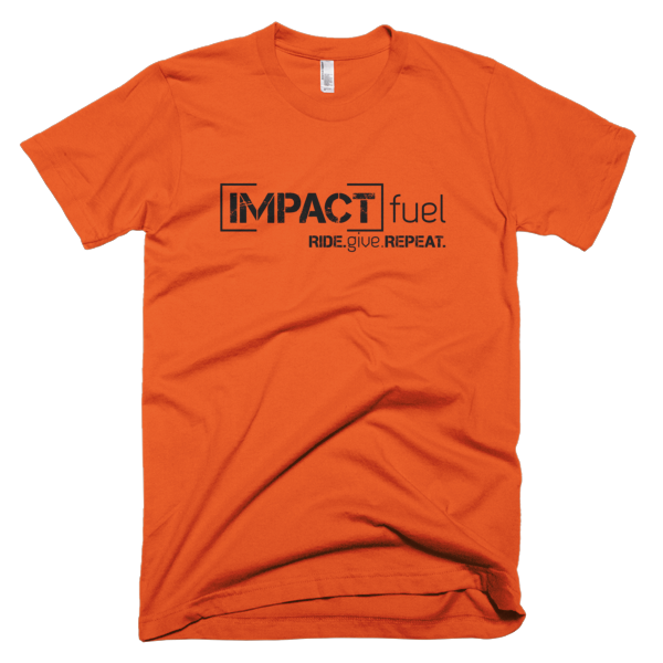 Impact Multiplier - Men's t-shirt - Orange
