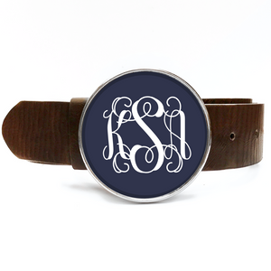 Monogram Belt Buckle