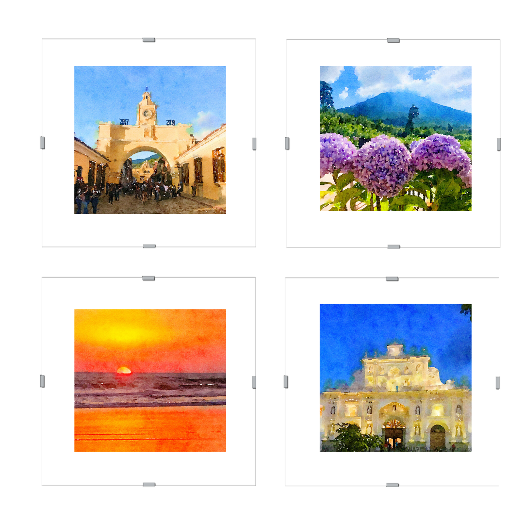 Watercolor Print Set | The Beauty of Guatemala