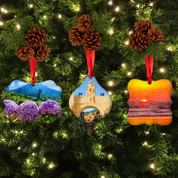 Christmas Ornament Set | The Beauty of Guatamala