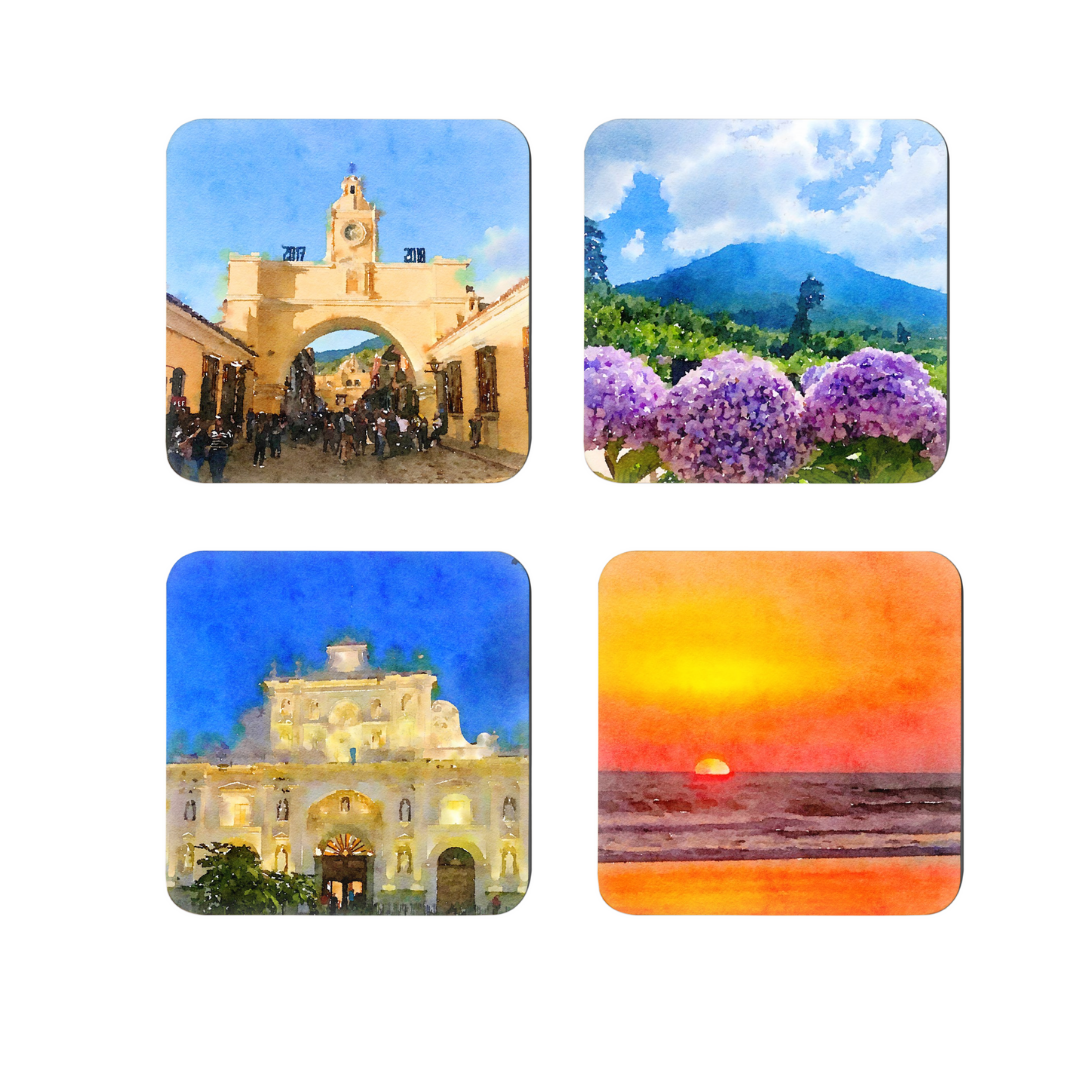 Coaster Set | The Beauty of Guatemala