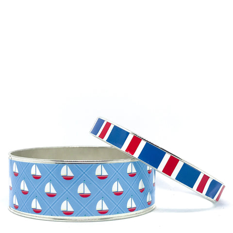 Ahoy Stackable Bangle Bracelet Set