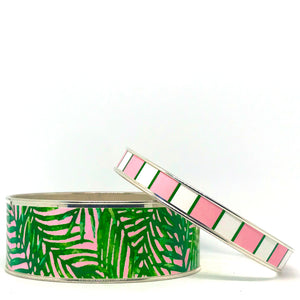 Palm Beach Stackable Bangle Bracelet Set