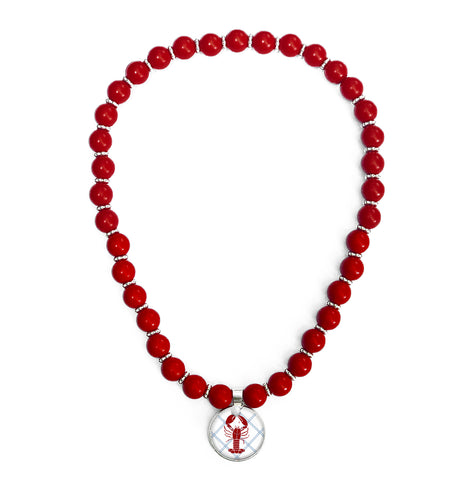 Lobster Roll Beaded Necklace