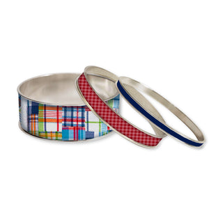Madras Stackable Bangle Set