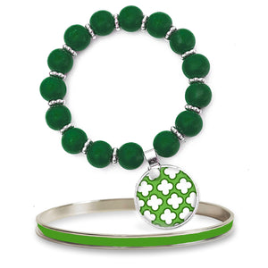 Signature Petal Apple Beaded Bracelet Set