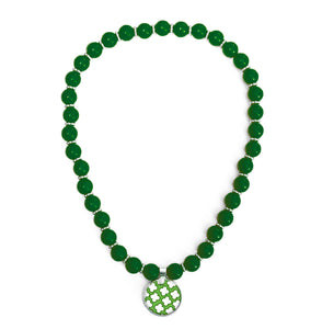 Signature Petal Apple Beaded Necklace