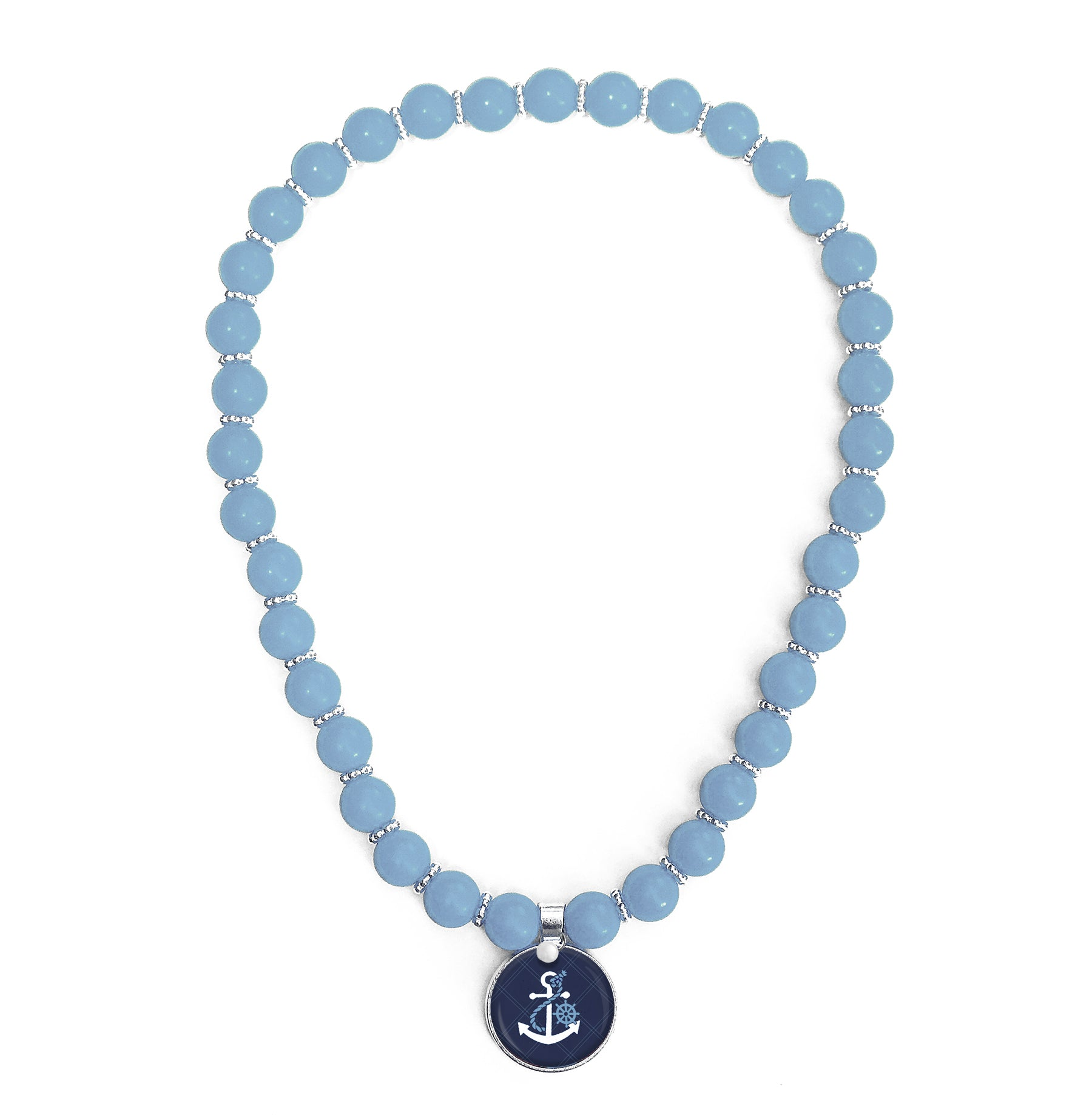 Anchors Away Beaded Necklace