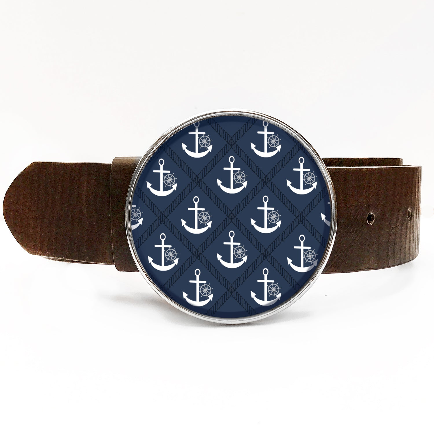 Anchors Away Belt Buckle