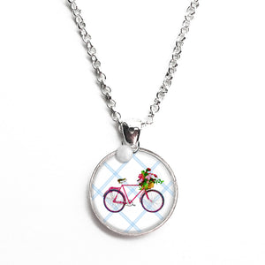 Ride a Bike Necklace