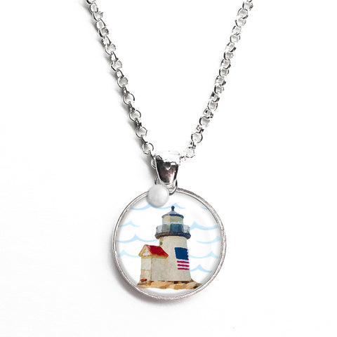 Brant Point Lighthouse Necklace