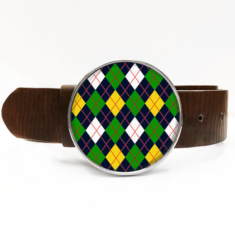 Argyle Belt Buckle