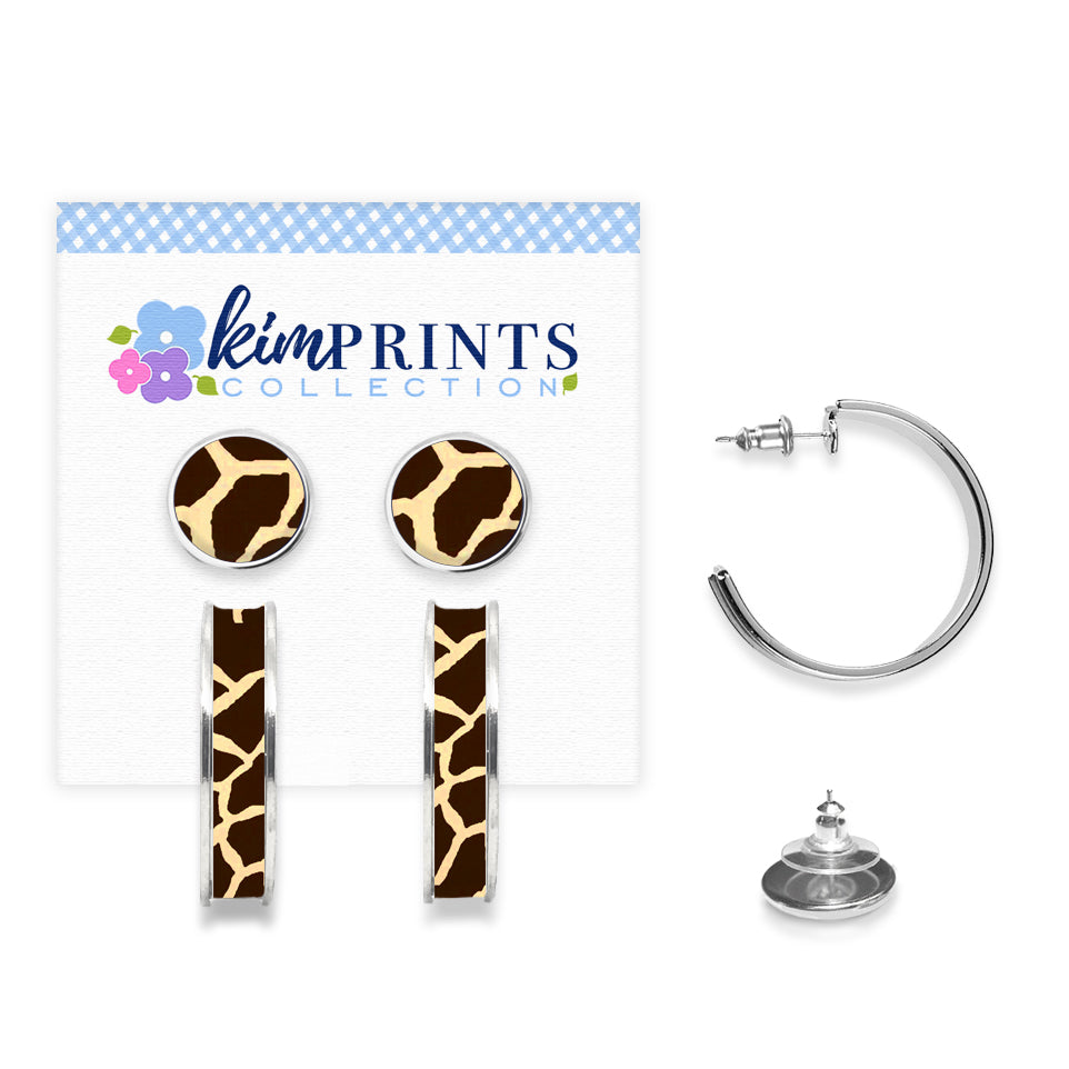 Giraffe Earring Set