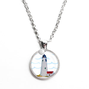 Great Point Lighthouse Necklace