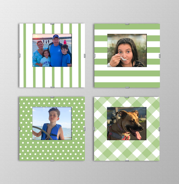 Monogram Photo Frames | Green with Envy