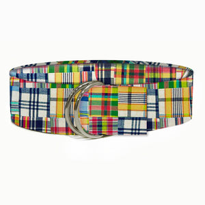 Madras Fabric Belt