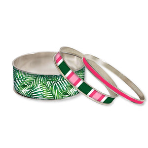 Palm Beach Stackable Bangle Set