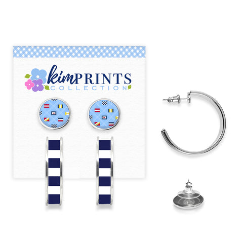 Regatta Earring Set