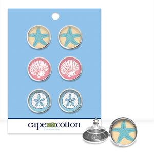 Preppy Earring Trio |  Sanibel