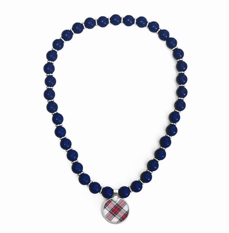 Tartan Classic Beaded Necklace
