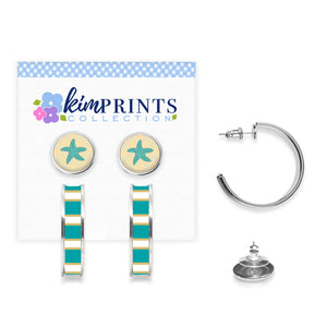 Starfish Earring Set