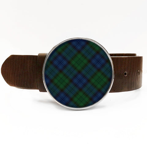 Blackwatch Plaid Belt Buckle