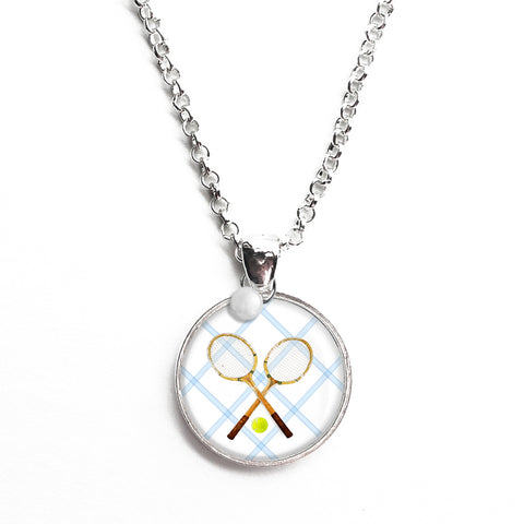 Tennis Anyone Necklace