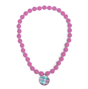 Madras Watch Hill Beaded Necklace