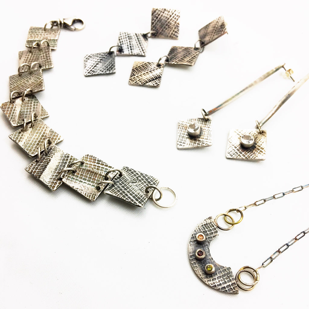 Peek Inside my Studio: Fine Silver Tredz Collection
