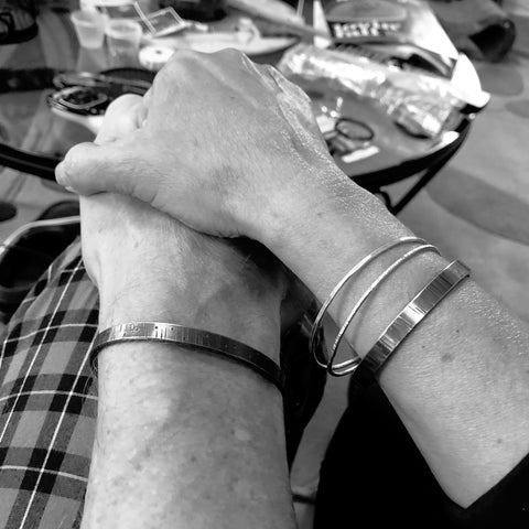 matching fuck cancer bracelets