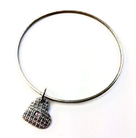 Tredz Heart Bangle Bracelet