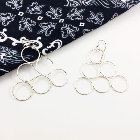 Whole Lotta Hoops Triangle Dangles