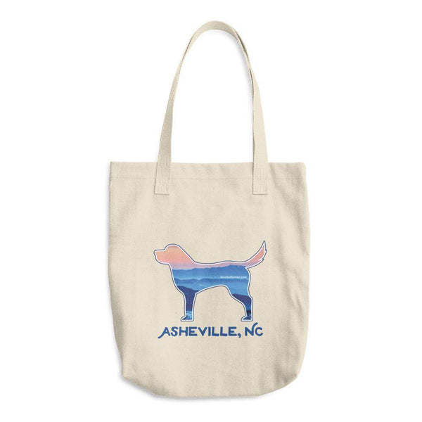 ASHEVILLE BLUE RIDGE MOUNTAIN DOG - COTTON TOTE BAG - Devoted Human